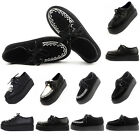 Womens Platform Lace Up Flats Creepers Goth Punk Autumn Shoes Size US 4- 9