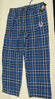 Men's NFL Indianapolis Colts Plaid Flannel Pajamas Pants New on eBay