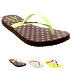 Womens Haviannas Slim Fresh Pop Up Casual Beach Holiday Flip Flop Sandals UK 1-8