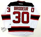 MARTIN BRODEUR NEW JERSEY DEVILS REEBOK PREMIER ROAD WHITE JERSEY NEW WITH TAGS