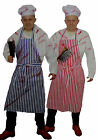 Deluxe Bloody Chef Halloween Fancy Dress Complete Costume Free Zombie Kit