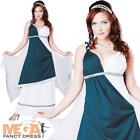Roman Beauty Ladies Fancy Dress Womens Grecian Toga Party Adult Costume Outfit