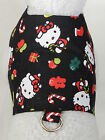 DOG CAT FERRET Custom Couture Harness~HELLO KITTY Santa Christmas Holiday Outfit