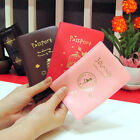 Travel Utility Simple Passport ID Card Cover Holder Case Protector Skin PVC 14j0