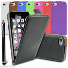 Real Genuine New Leather Flip Slim Case Pouch Cover For Apple iPhone 6