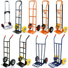 Heavy Duty Hand Trolley Industrial Sack Truck Barrow 200KG/250KG Cart Warehouse