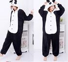 Unisex Adult Kigurumi Pajamas Anime Cosplay Costume Onesie Sleepwear SUITS PANDA