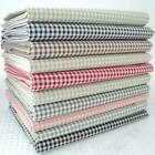2mm check -  KENT 2 YARN DYED GINGHAM - COTTON FABRIC - NEW check size -