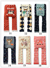 Cute Baby Toddler Boys Girls Cotton Animal Pattern Legging Tights Pants /IS