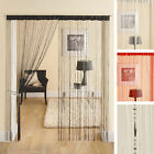 Link String Tassel Fringe Panel Beaded Bead Screen Window Door Curtain 90x200cm