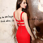 Sexy Ladys Bandage Pinup Crochet Fit Sheath Party Prom Evening Formal Gown Dress