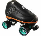 Jam Speed Roller Derby Skates - Vanilla Blackout Gorilla Pro Tiffany Wheels