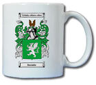 DACOMBE COAT OF ARMS COFFEE MUG