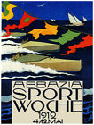 9878.Abbazia sport woche.boats racing.sail boats.POSTER.home decor graphic art
