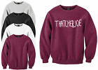Thatcherjoe Name Sweatshirt Youtube Male Female FAN Joe Sugg vlogger Sweat Shirt