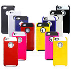 New Color Rugged Rubber Matte Fitted Hard Case Cover For Apple iPhone 5 5S