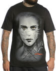 Sullen Clothing Elvin Badge Mens T Shirt Black Goth Tattoo Tee