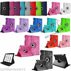 Leather 360 Degree Rotating Smart Stand Case Cover For Apple iPad Mini 3 2 1