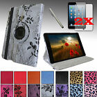 For Apple iPad MINI 3 2 1 Luxury PU Leather SMART Case Cover Stand + Accessories