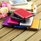 Multi-Color Aluminium Wallet Credit ID Business Card Purse Metal Holder Case