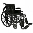 "Compass Health16"" Standard Wheelchair,  w  Choice of Leg Rigging"