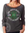 ROYAL ORDER OF TAILGATERS ROT SEATTLE local craft N6951 3/4 Sleeve Raglan Shirt