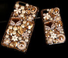 HOT Retro luxury crystal flower pearl bag Case cover for Apple iPhone4 5 6 plus