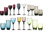 Set Of 4 Contemporary Red Wine Champagne Hi-Ball Tumbler Drinks Cocktail Glasses