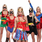 Sexy Super Hero Costumes Womens Comic Book Movie superhero Fancy Dress Outfit