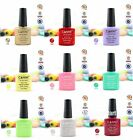 New Gel Polish Shecllac Soak off Fashion Colour LED Glitter Decoration 7.3ml #F
