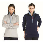 Harry Hall Ladies Norton Tunic Long Sleeve Zip Top Womens Jumper Sweatshirt