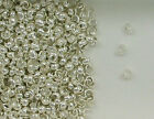Sterling Silver Beads, 2.5mm Crimp Cover Design, New