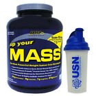 MHP Up Your Mass 2.26kg Weight Gainer + SHAKER