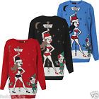 Womens Ladies Mens XMAS NORTH POLE Christmas Knitted Jumpers
