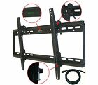 LCD LED PLASMA FLAT TILT TV WALL MOUNT BRACKET 37 39 40 42 46 50 52 55 57 60 65