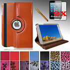 For All Models Apple iPad MINI LUXURY PU Leather Case Cover Stand + Accessories