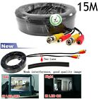 15M 15 Meters 49.2FT BNC Video DC Power Cable Wire For CCTV Security Camera DVR