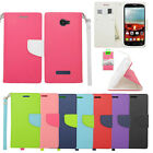 For Alcatel One Touch Fierce 2 Case Wallet Pouch Stand ID Phone Protector Cover