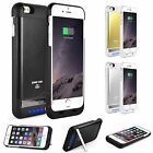 "Portable External Backup Battery Charger Case Cover For iPhone 6 4.7"" Plus 5.5"""