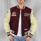 Alpha Industries Collegejacke Herren Varsity Jacket burgundy College Jacke