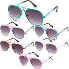 Kids Sunglasses Aviator Style Fashion Cute Girls Boys Sunnies New KP2051M multi