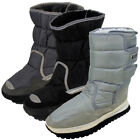 New Mens Shearling Snow Quilted Thermal Winter Warm Boot Moon Jogger Rain Boots
