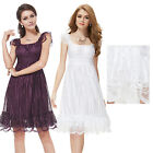 Ever Pretty Ladies Lace Cocktail Party Casual Summer Dress Cute Prom Gown 02713