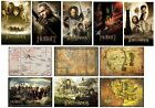LOTR & THE HOBBIT - POSTERS (Official) 61x91.5cm - Maps/Characters/Teaser (Maxi)