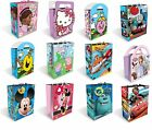 Large Character GIFT BAGS - Kids Birthday Party Gift/Present (GEMMA)