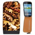 Wooden Safari Animals Leather Flip Case for Samsung S3
