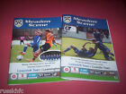2014/15 - LOWESTOFT HOME PROGRAMMES CHOOSE FROM