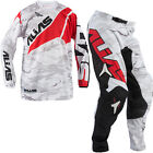 NEW 2015 ALIAS A2 MOTOCROSS ENDURO KIT COMBO JERSEY AND PANT RED CAMO