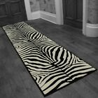Zebra Black - Hallway Carpet Runner Rug Mat For Hall Extra Very Long Cheap New