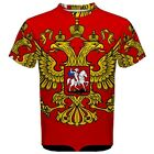 Russian Federation Coat of Arms Sublimated Sublimation T-Shirt S,M,L,XL,2XL,3XL